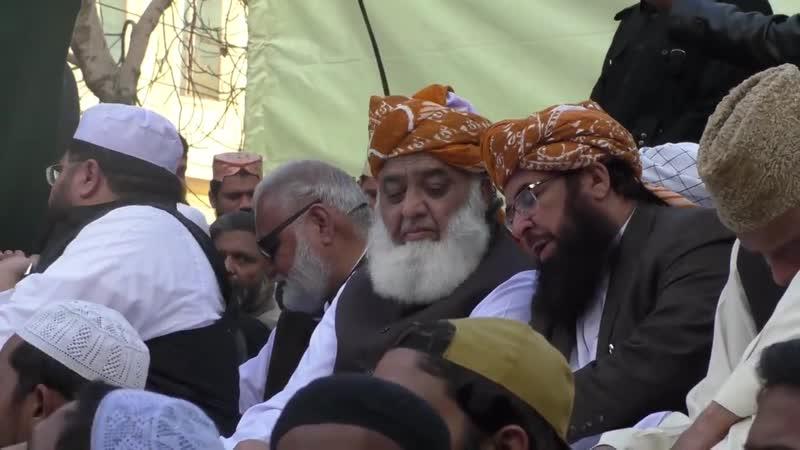 Pakistan - Des centaines dislamistes manifestent à Lahore contre lacquittement de Asia Bibi