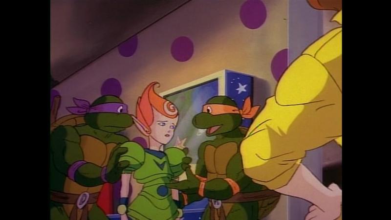 Сезон 01 Серия 04: Жители измерения «Икс» появляются на Земле | Черепашки мутанты ниндзя (1987-1996) / Teenage Mutant Ninja Turt
