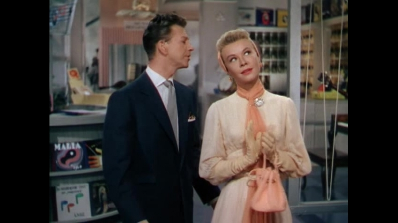 Donald O'Connor and Vera Ellen It's a Lovely Day Today OST Call Me Madam