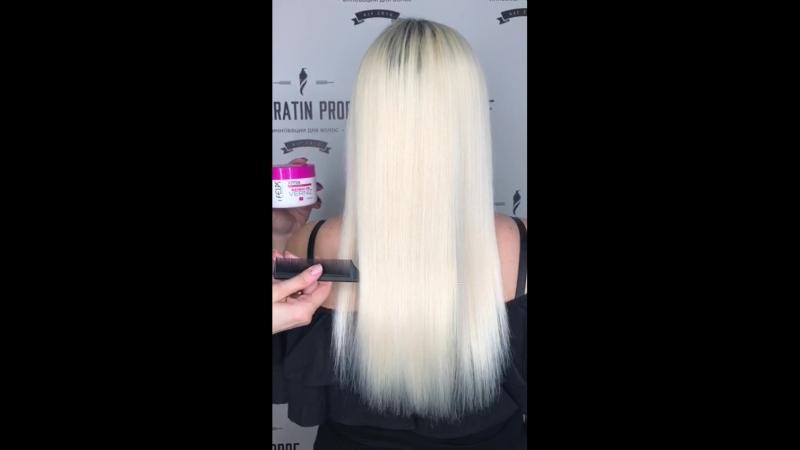 Verniz полировка волос. Технолог Тарасова Ксения