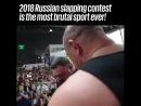 Slapping contest