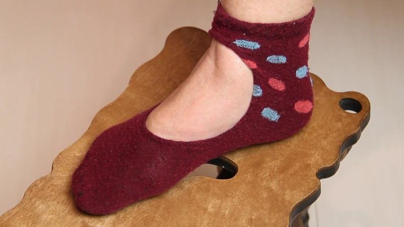 Не выбрасывайте старые носки. СМОТРИТЕ, ЧТО Я СДЕЛАЛА