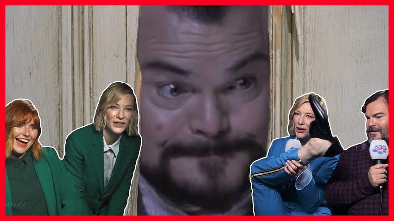 Cate Blanchett Jack Black Funniest Moments 2018 part 1