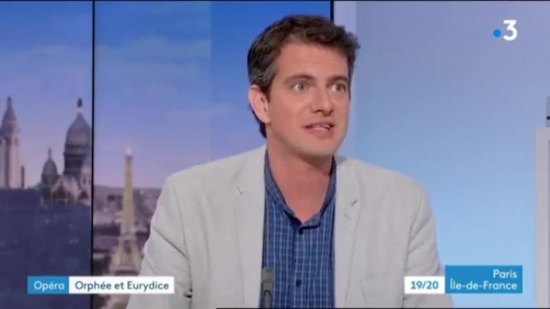 Philippe Jaroussky Orphée Eurydice 22 05 au 02 06 18 Théâtre Champs Élysées