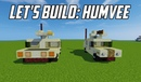 Minecraft Humvee Tutorial old version