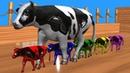 Los animales de granja y sus crías se transforman en animales salvajes