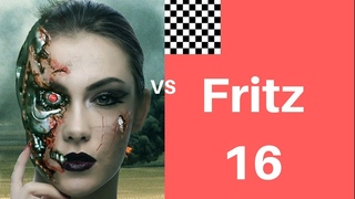 Leela Chess plays like Karpov to exploit isolated Q-side pawns!  Leela ID 11089  vs Fritz