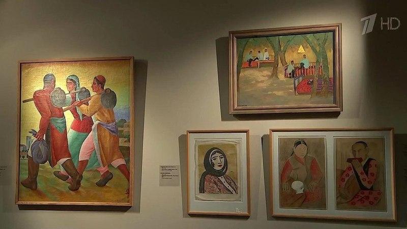 ВМоскве открылась выставка картин изуникального собрания Музея им. Игоря Савицкого вНукусе