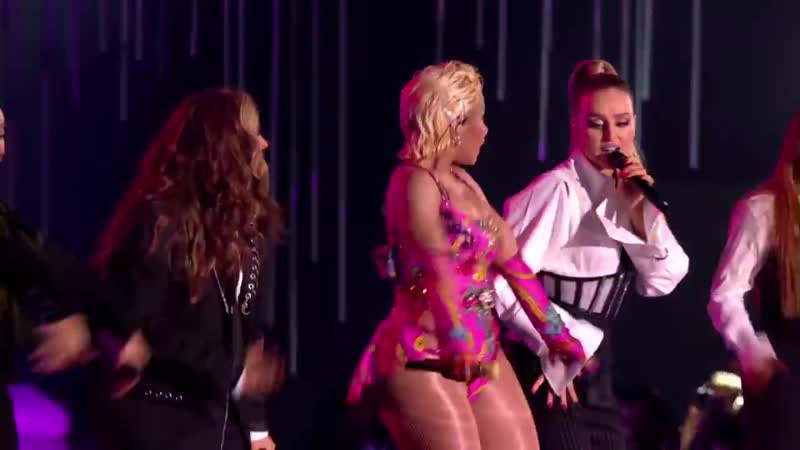 Nicki Minaj Little Mix Good Form - Woman Like Me Live - MTV EMAs 2018