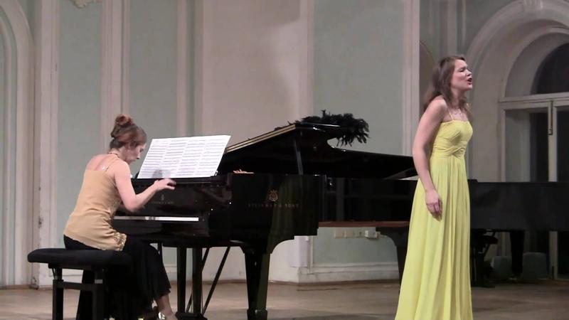 Лакалье Амапола. soprano S. Kukhnova, piano N. Belkova