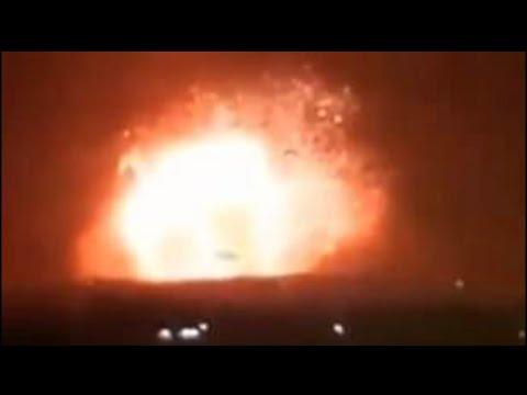 Syria reports rocket attacks on military bases near Hama, Aleppo