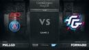 PSG.LGD vs Forward Gaming, Game 2, The Chongqing Major Group B