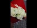 Букет белых роз!