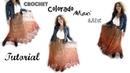 Colorado Crochet Maxi skirt Tutorial