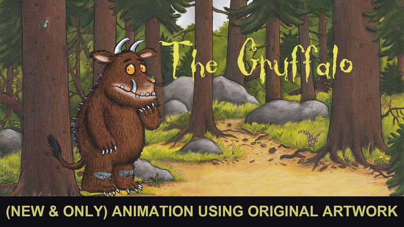 The Gruffalo - Narrated by The Fugglebugs (NEW ONLY ANIMATION using the original art)
