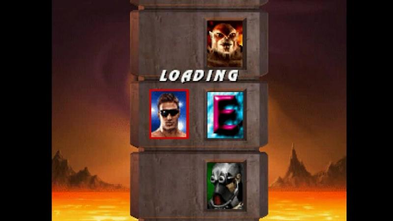 Mortal Kombat Trilogy (PSX) - Longplay as Johnny Cage