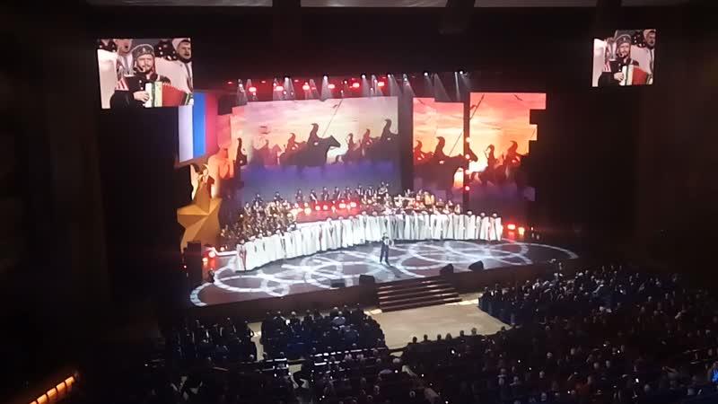 Кубанский казачий хор. Мы на концерте в Кремле 9.12.18