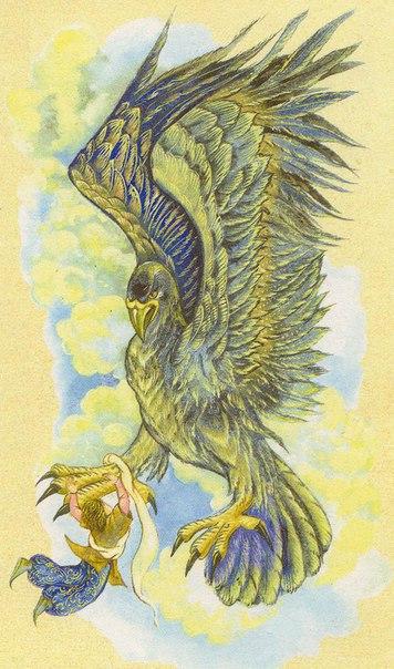 Остров птицы Рух Синдбад-мореход так рассказывает о своем пятом путешествии: «С большой радостью и в отличном расположении духа отправились мы, наконец, в плавание. Плыли от острова к острову и
