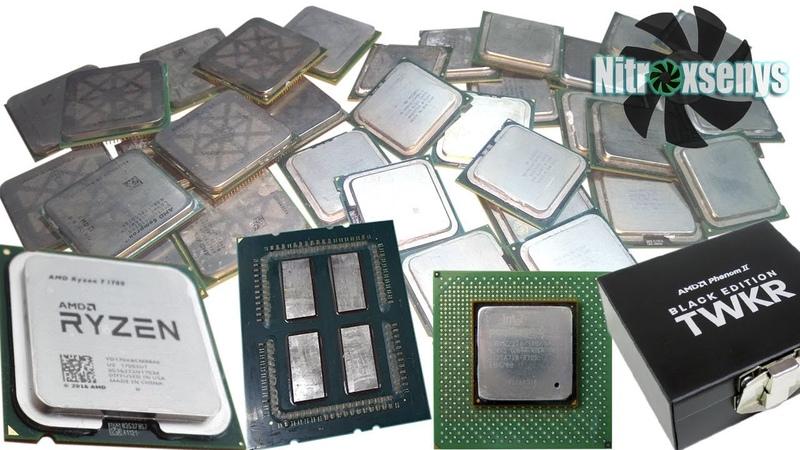 Самые необычные процессоры что выпускали Intel и AMD