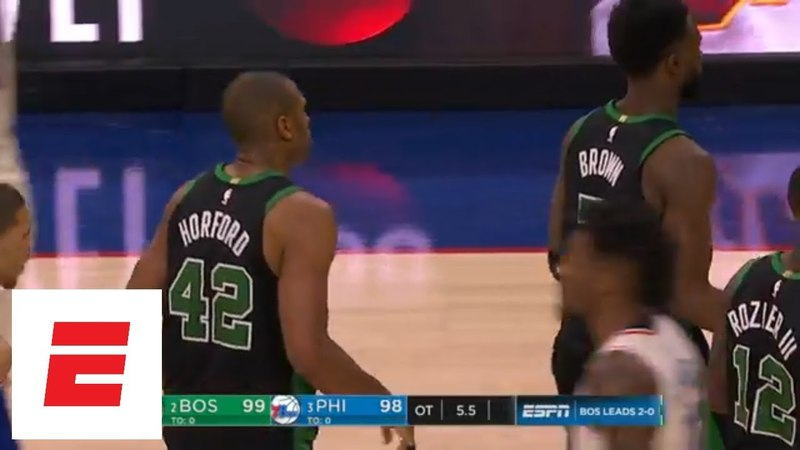 Al Horford plays hero in Celtics Game 3 overtime win against 76ers | ESPN