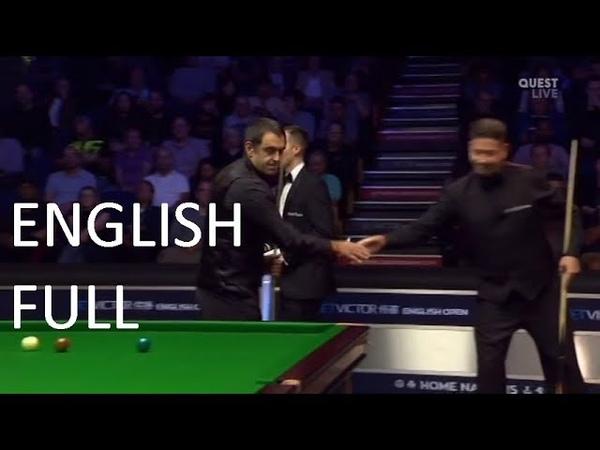 Ronnie O'Sullivan vs Matthew Stevens - (full match) English Open Snooker 2018 (R3)