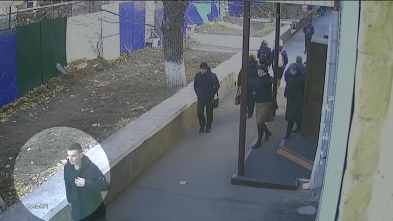 Полицейские разыскивают грабителя
