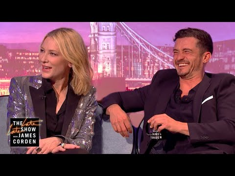 Cate Blanchett Orlando Bloom Could Have Been a Thing LateLateLondon