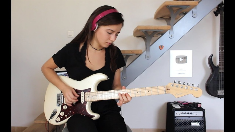 Pink Floyd Comfortably numb last solo Cover by Chloé