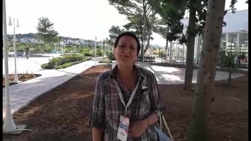 Наталья Обмочий Менеджерская конференция Хорватия 2018