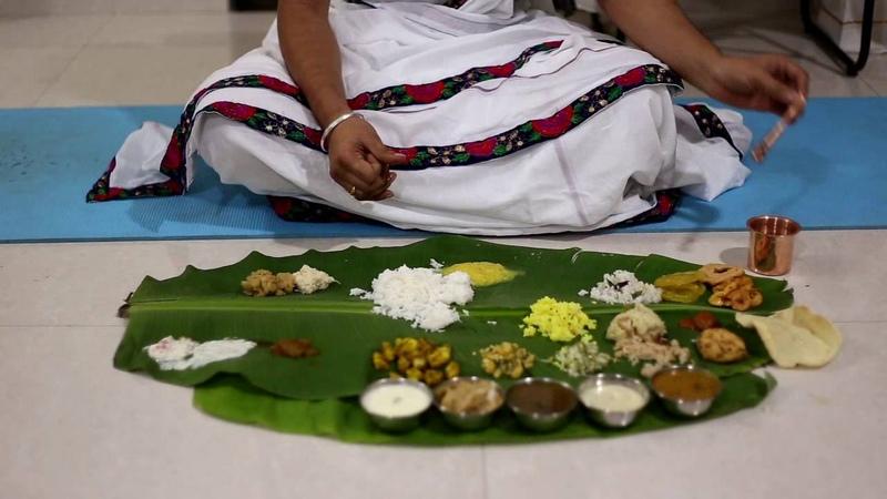 Bhojanam Vidhi (after Upanayanam samskara only)