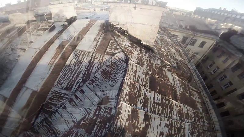 Прогулка по крышам Санкт Петербург