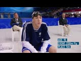 Michael Phelps First Olympic Final at Sydney 2000 Olympic Debut