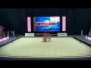 Сборная Казахстана в групповых упражнениях - 3 мяча/2 скакалки World Challenge Cup – Minsk, Belarus - 17-19.08.18