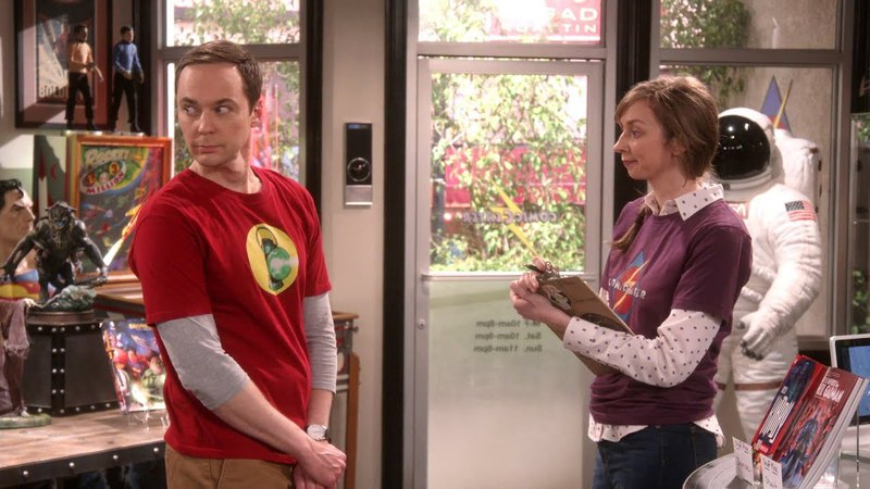 The Big Bang Theory - The New Girl (S11E21)