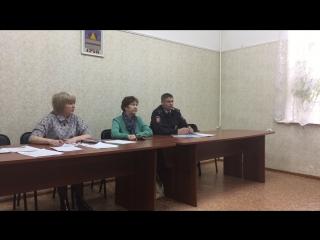 Встреча участкового Леонида Калмыкова с гражданами в Центральном округе Омска