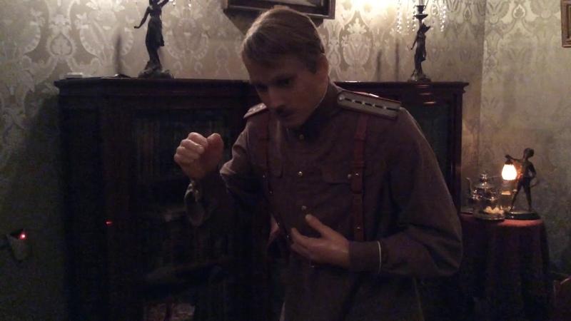 Инсталляция «Убийство Распутина. Заговорщики» в Юсуповском дворце