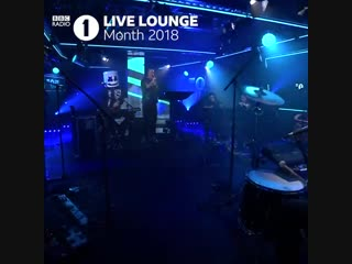 Radio 1 on bbc sounds - nothing makes us happier than a @marshmellomusic and @bastilledan live loung