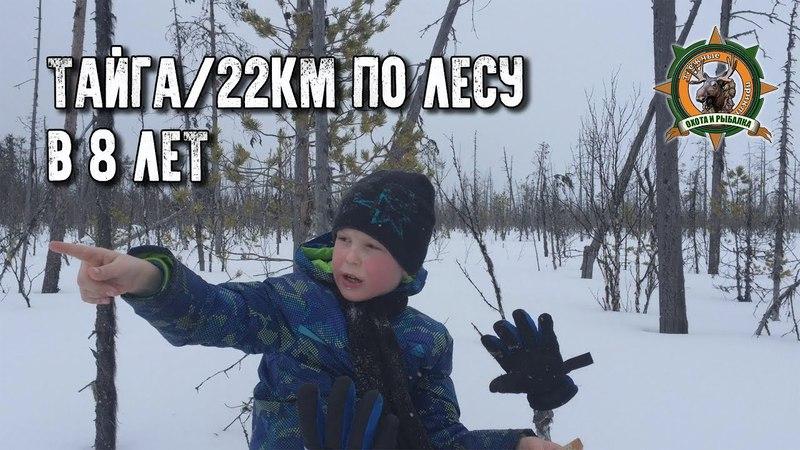 Тайга22км по лесу в 8 летБудущий таёжникTayga adventures