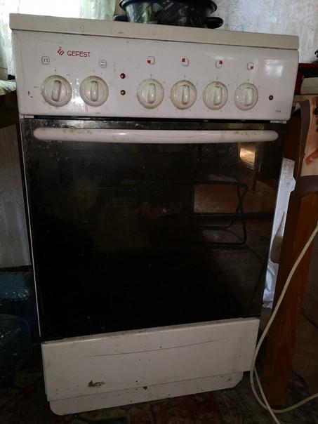 Печь и стиральная машина
