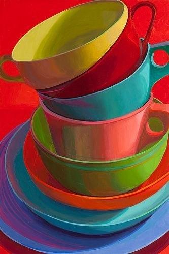 Яркие работы от Marian Dioguardi