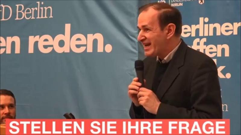 Rede beim Bürgerdialog in Steglitz-Zehlendorf   Dr. Gottfried Curio