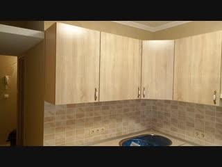 Кухня «Дуб Сонома - Орех Лугано». Часть 1