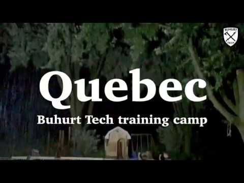Buhurt Tech - Training camp in Quebec