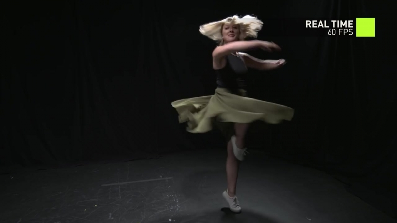 NVIDIA – Transforming video into slowmotion with AI