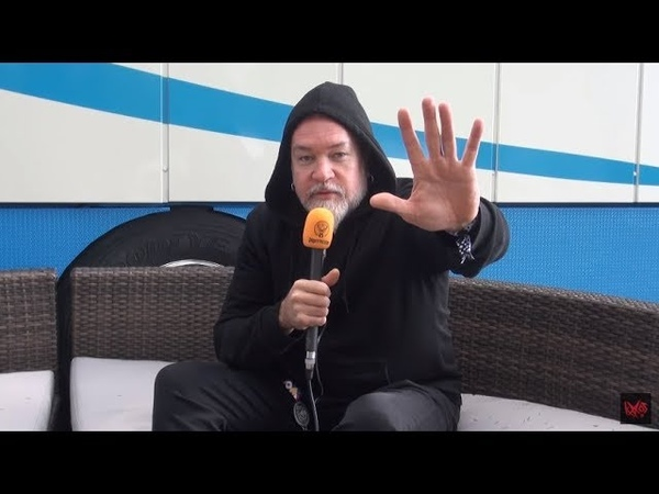 Meshuggah Interview Tomas Haake @ Provinssi 30.6.2018