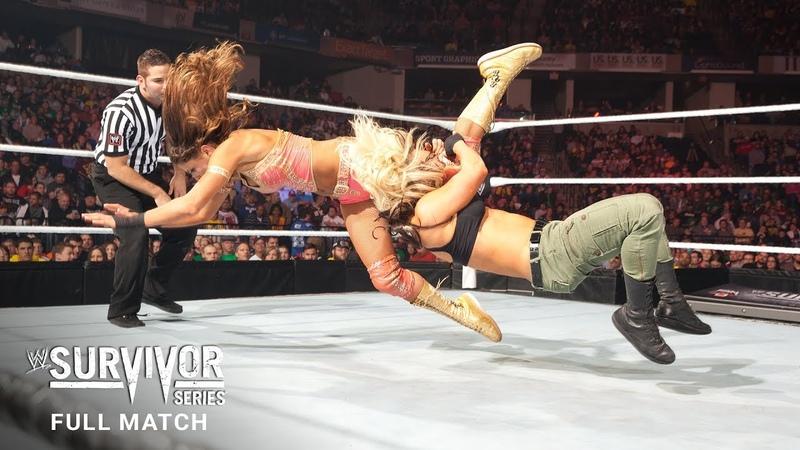 FULL MATCH - Eve vs. Kaitlyn - Divas Championship Match Survivor Series 2012 (WWE Network)