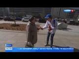 В память о Победе москвичи вновь повязывают георгиевские ленточки
