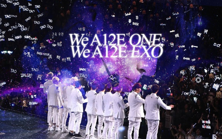 We A12E ONE! WE A12E EXO! || S A Y S O M E T H I N G