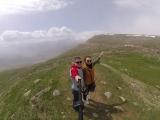 Снег на Селимском перевале 2400м