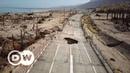 Recuo do Mar Morto gera crateras com mais de 30 metros